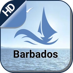 Barbados offline boating nautical fishing charts