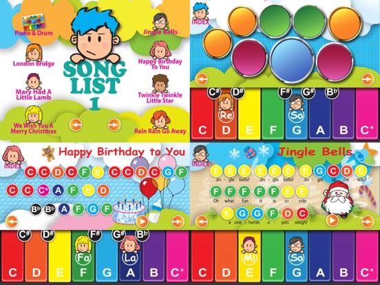 Piano School Free- Touch Music Sheet,Piano & Drum | App