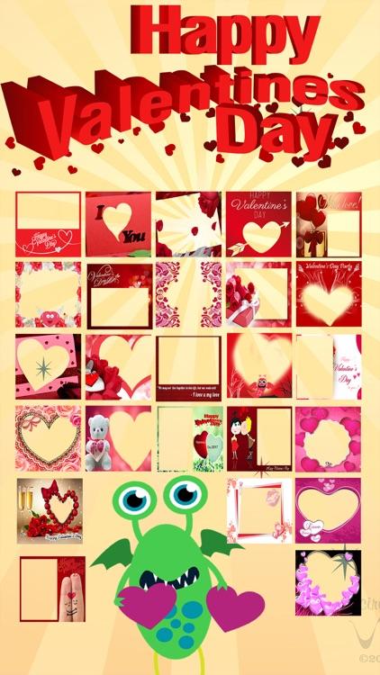 Valentine.s Wishing Card - Love Photo Sticker FX app image