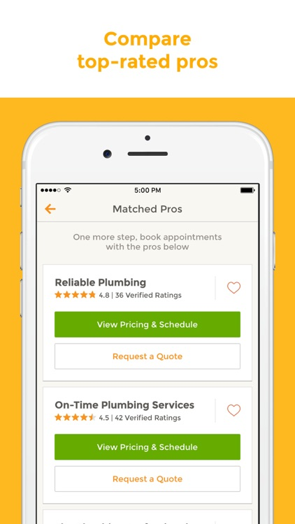 HomeAdvisor - Find & Book Top-Rated Home Pros screenshot-3