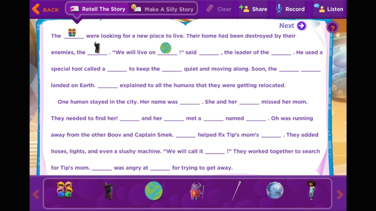 HOME: Official Movie Interactive StoryBook screenshot-4