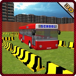 Bus Parking School & Driving Simulator Game