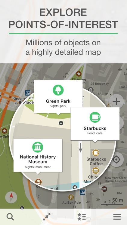MAPS.ME – Offline Map with Navigation & Directions