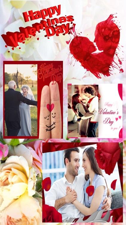 Wishing Card - Valentine Love Card & Photo Sticker app image
