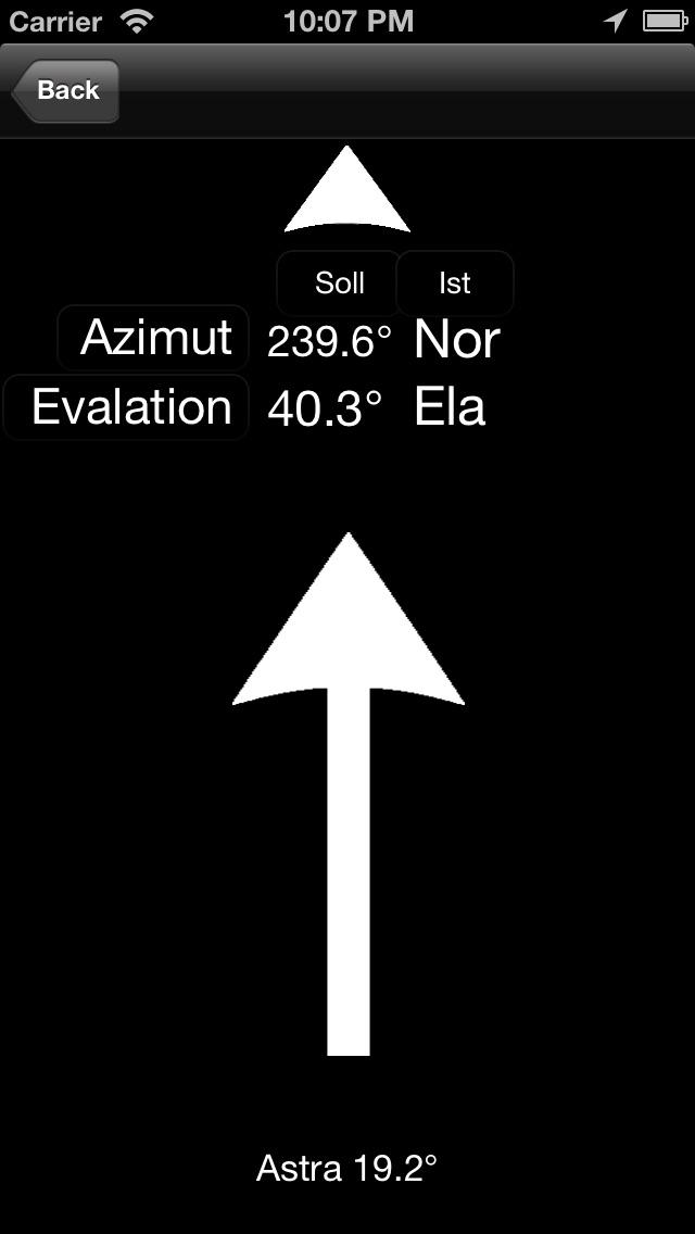 Screenshot for SatFinder GPS Pro in United Arab Emirates App Store