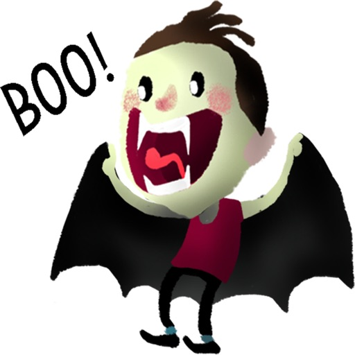 Vampire stickers by meltem