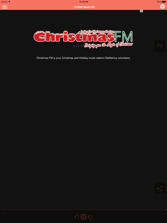 christmas fm on the app store