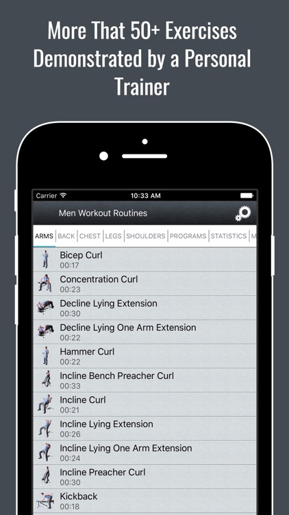 Dumbbell Home Strength Workout Routines for Men screenshot-1