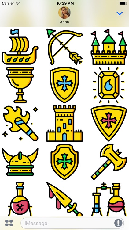 The Medieval: Golden Era Emoji Stickers Limited screenshot-3