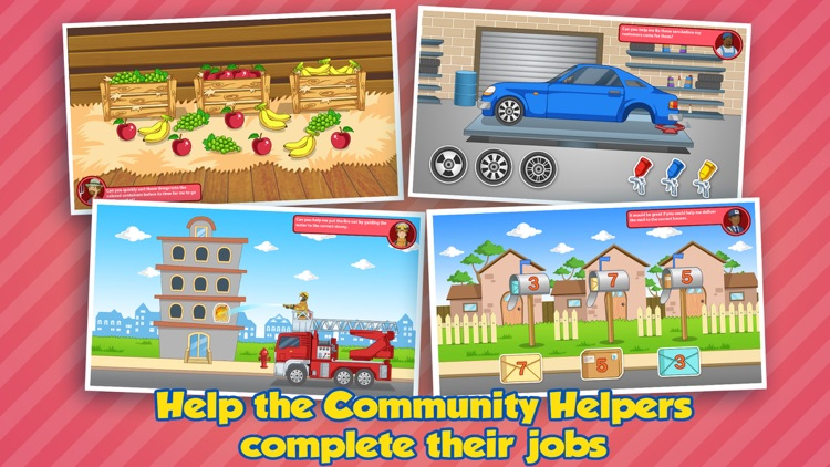 Community Helpers Play & Learn