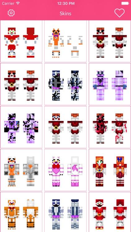 FNAF Skins For Minecraft Edition screenshot-3