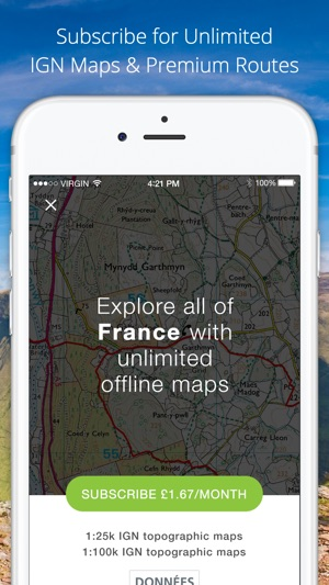 Outdoors Gps France Ign Maps On The App Store