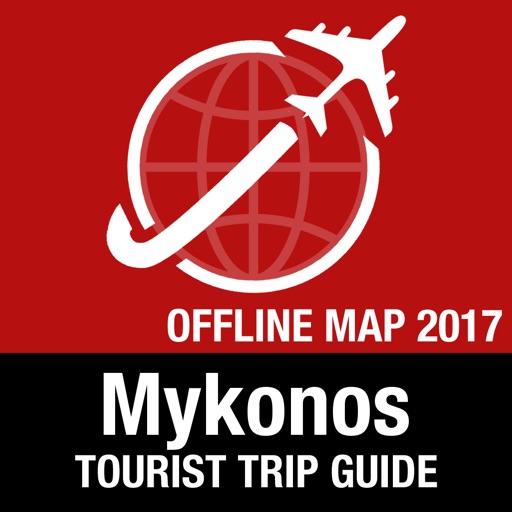 Mykonos Tourist Guide + Offline Map