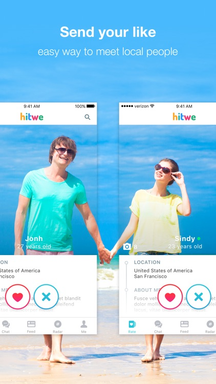 Hitwe – meet new people online, chat & date