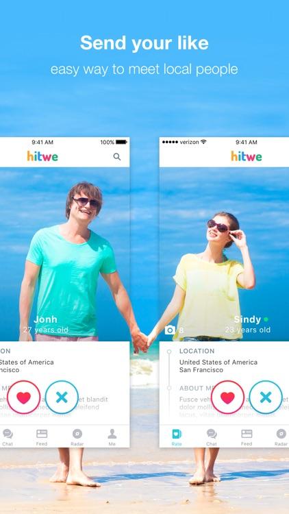 Hitwe – meet new people online, chat & date