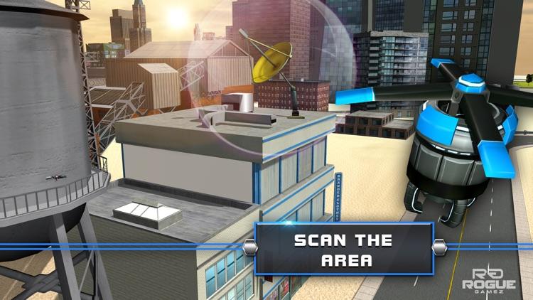 Robot Squad Stealth Operation– Spy Drone Simulator screenshot-4