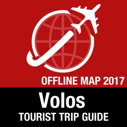 Volos Tourist Guide + Offline Map