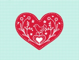 Love and Valentine Hearts Stickers for Messages