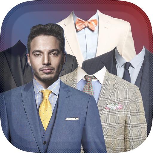 Männer Anzug Schick Bilderrahmen – Modisch Bilder