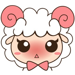 Kuri , the little sheep for iMessage Sticker