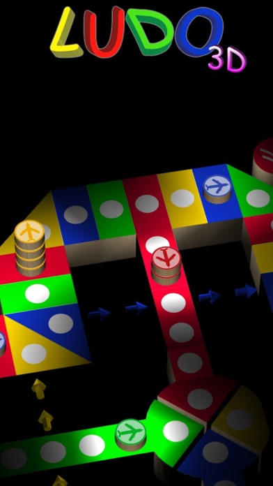 Screenshot #1 pour Ludo 3D : Aeroplane Chess