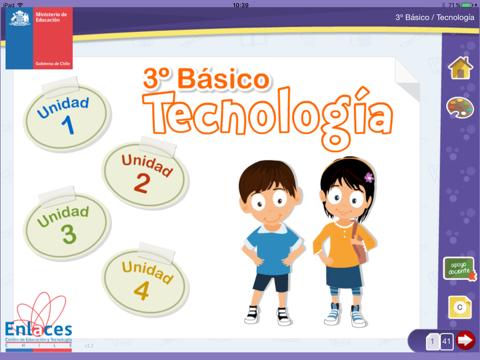 Tecnología 3º Básico screenshot 1