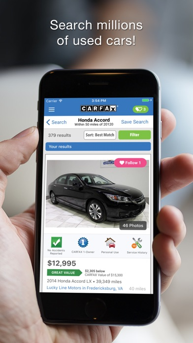CARFAX Find Used Cars for Sale app image