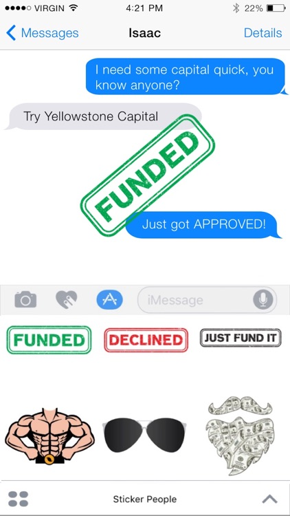 Yellowstone Capital Sticker Pack