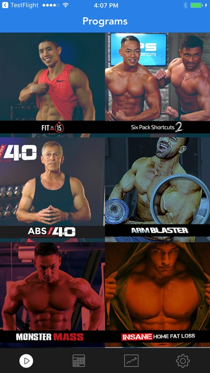 Sixpack Abs Training