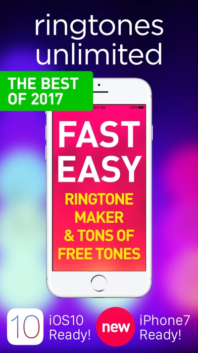 Ringtones for iPhone with music Ringtones library! app image