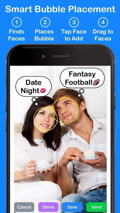 dating show thought bubbles Bumble has changed the way people date, find friends, and the perception of meeting online, for the better women make the first move on iphone + android.