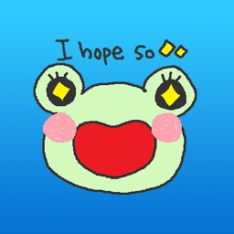 Banjo The Cute Frog Stickers