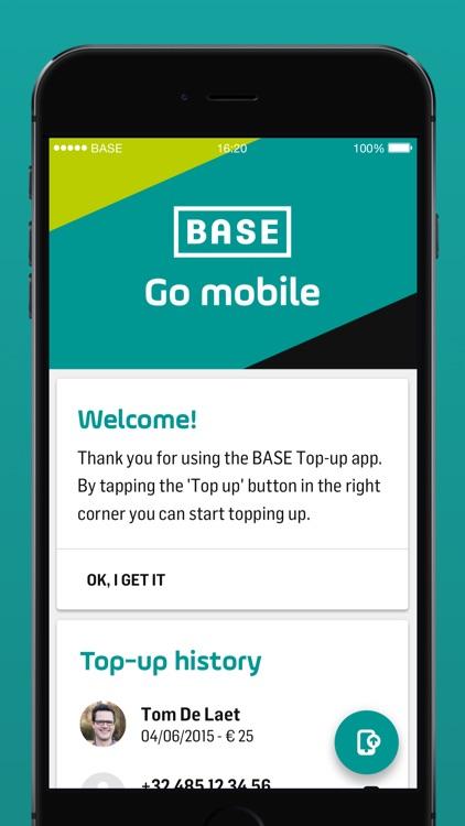 BASE Top-up