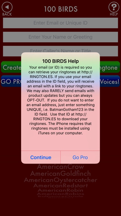 100BIRDS + RINGTONES Bird Calls Tweets Sounds screenshot-3