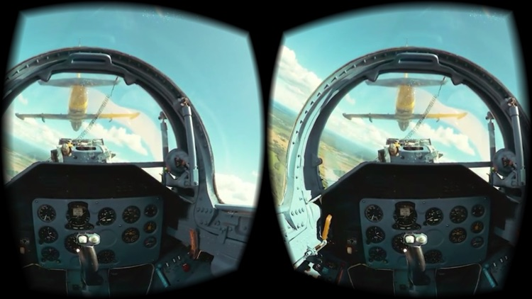 VR Flight Simulator - Virtual Reality