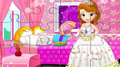 little princess education games jigsaw screenshot one