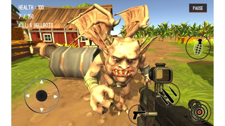 Monster Hunting City Shooting screenshot-4