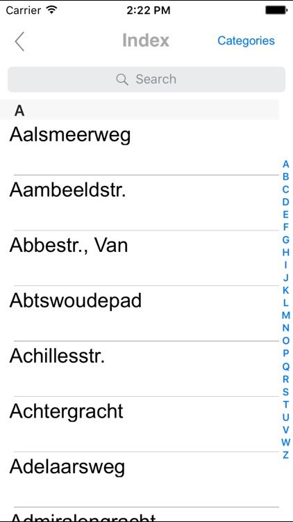 Amsterdam and suburbs. Tourist and road map. screenshot-4