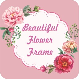 Beautiful Flower Photo Frame - Rose Frame Effects
