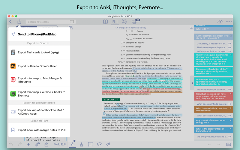 MarginNote Pro Screenshots