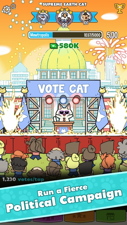 PolitiCats: Awesome Clicker Game