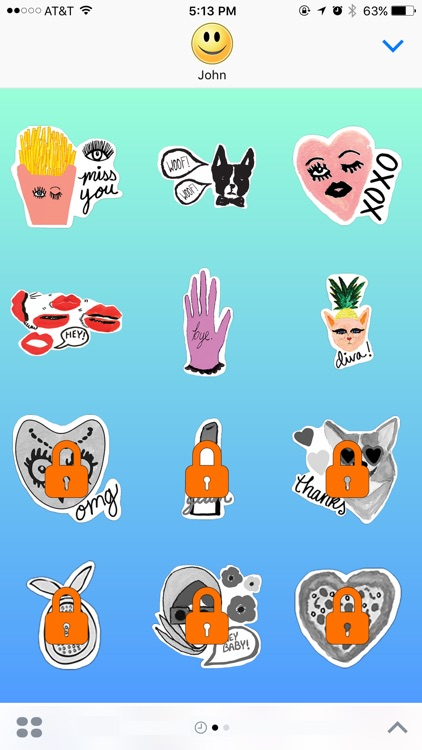 Girls Play Choices - Stickers For iMessage