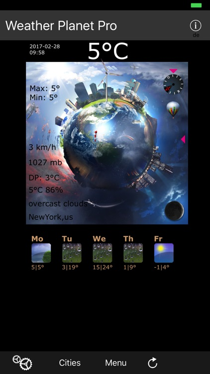 Weather Planet Pro