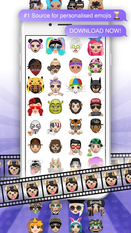 Moji Edit- Your Custom Emoji Avatar Face screenshot-3