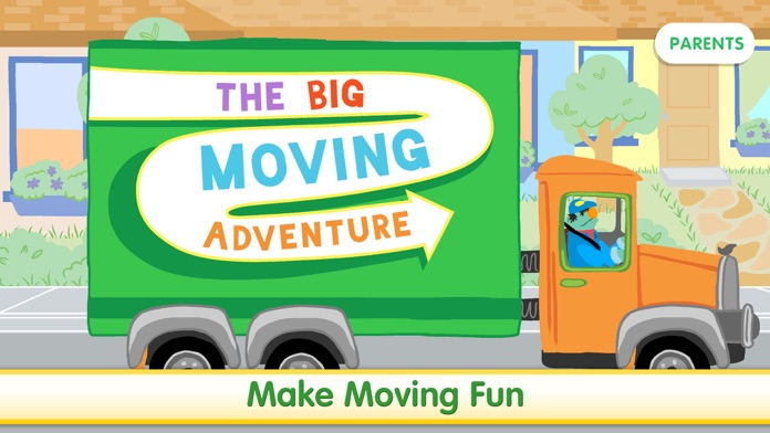 The Big Moving Adventure Screenshot