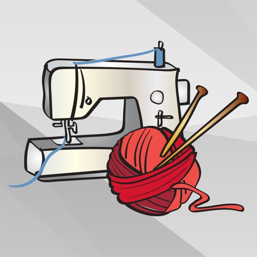 Knitting Art and Craft Stickers