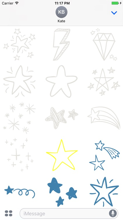 Animated Cute Star Stickers screenshot-4