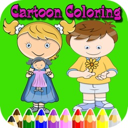 Cartoon Kid color easy kid games 4 yr old girls