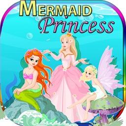 Mermaid and Princess Puzzle Game