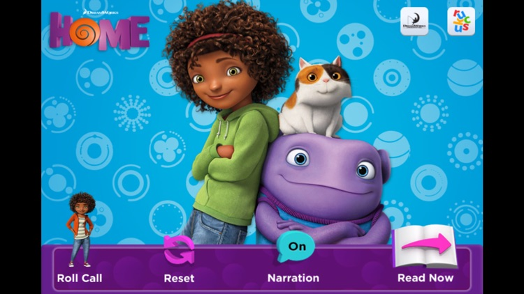 HOME: Official Movie Interactive StoryBook